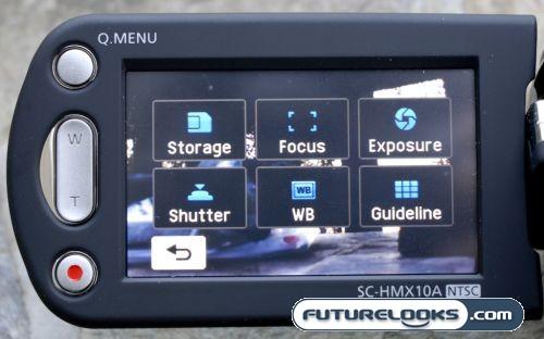 samsung hmx10a 2 Samsung SC HMX10A High Definition Camcorder Review