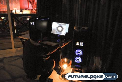 CES 2008 - The Secret World of NZXT, TAGAN and ANTEC