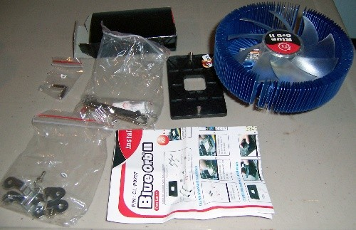 Thermaltake Blue Orb II CPU Cooler Review