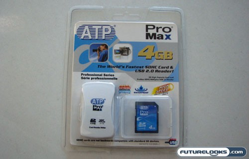 ATP ProMax 4 GB SD High Capacity (SDHC) Memory Card Review