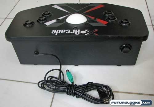 X-Arcade Trackball Mouse Game Controller Review