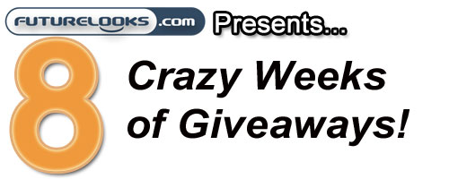 Eight Weeks of Crazy Giveaways Means Free Stuff!
