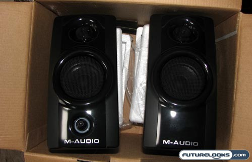 M-Audio Studiophile AV 20 Portable Desktop Speaker System Review