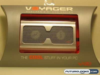 VIZO Voyager Dual Fan 3.5 Inch Hard Drive Cooler Review