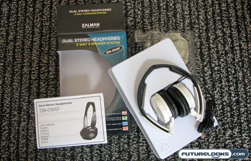 Zalman ZM-DS4F Dual Stereo Headphone Review