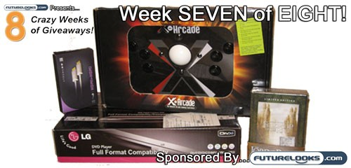 Eight Crazy Weeks of Giveaways - Week SEVEN of EIGHT - Sponsored by Futurelooks!
