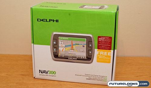 Delphi NAV300 Portable GPS Navigation System Review