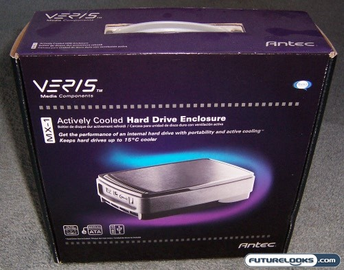Antec Veris MX-1 Actively Cooled Hard Drive Enclosure Review