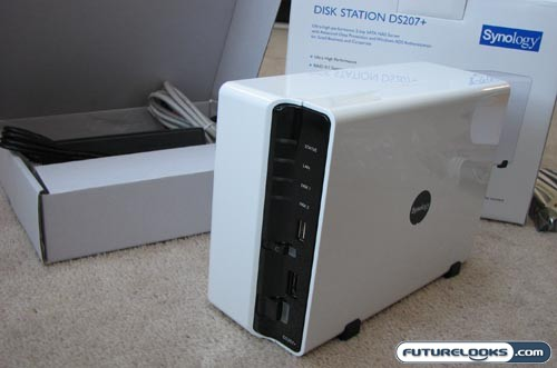 Synology DiskStation DS207+ Dual Drive SATA NAS Server Review