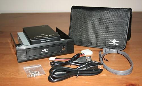 VANTEC EZ Swap EX 2.5 Inch SATA Hard Drive Enclosure Review