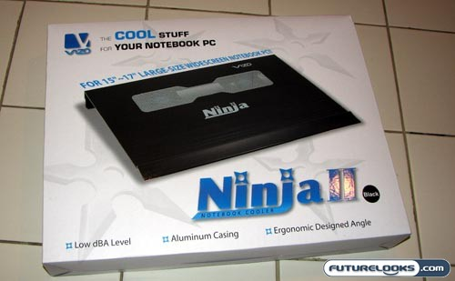 VIZO Ninja II Notebook Cooling Stand Review