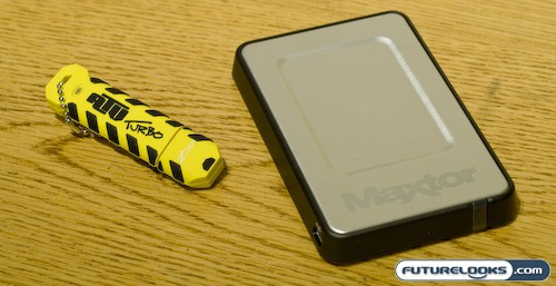 Maxtor OneTouch 4 Mini 250GB External USB 2.0 Hard Drive Review