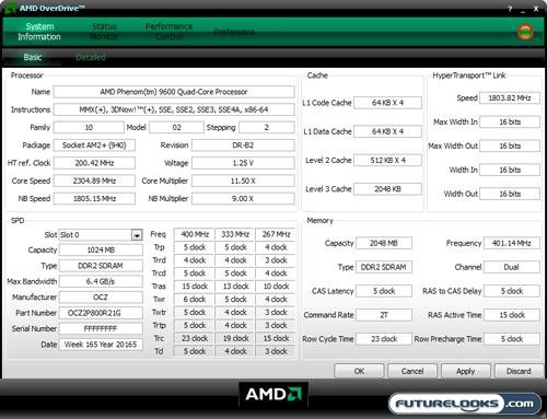 AMD Phenom 9600 Black Edition CPU Review