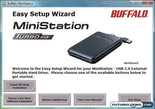 Buffalo MiniStation 320GB TurboUSB Portable Hard Drive Review