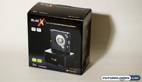 Thermaltake BlacX SATA USB Hard Drive Docking Station Review