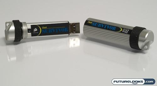 Corsair Survivor 32GB Ultra Rugged USB 2.0 Flash Drive Review