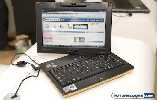COMPUTEX 2008 Spotlight - Flybook Offers Tiny Size and Big Performance