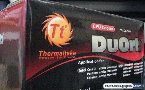 Thermaltake DuOrb CPU Cooler Review