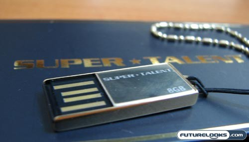 Super Talent PICO-C Gold 8GB USB Flash Drive Review
