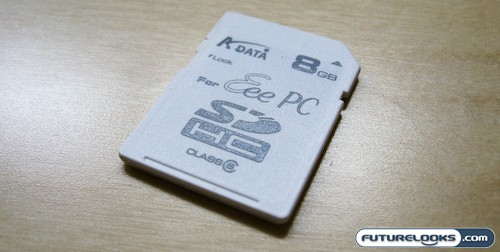 A-DATA EeePC 8GB SDHC and Turbo 266X 8GB Compact Flash Review