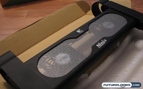 Vizo Ninja HS Notebook Cooler Review