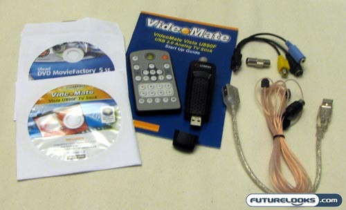 COMPRO Vista U890F USB TV Stick Review