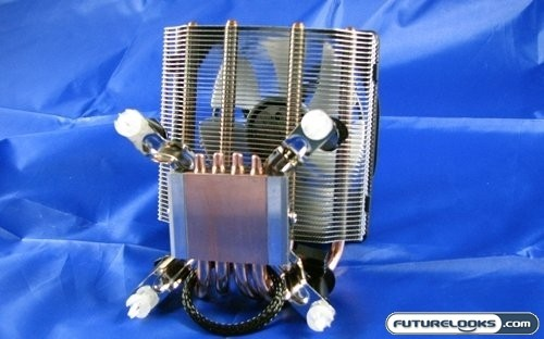 GELID Silent Spirit Quad Heatpipe CPU Cooler Review