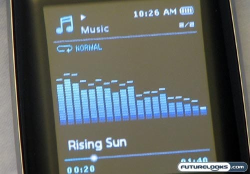 Samsung YP-S3JCB MP3 Player Review