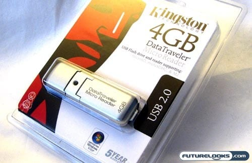 Kingston 4GB DataTraveler Micro Reader Review
