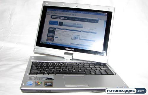 GIGABYTE M912 Convertible Tablet PC Netbook Review