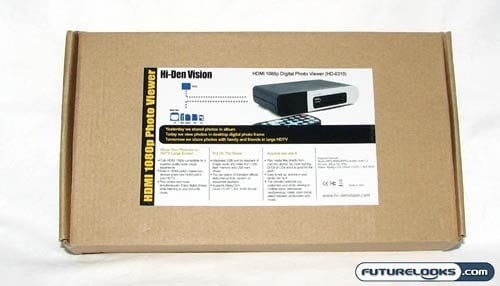 Hi-Den Vision HDMI 1080p Digital Photo and Video Viewer Review