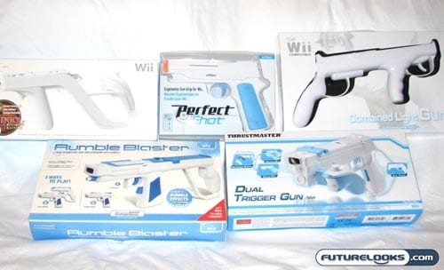 Blasting Away with a Nintendo Wii Zapper Shootout