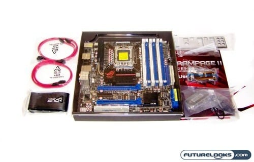 ASUS ROG Rampage II Gene X58 Micro ATX Motherboard Review