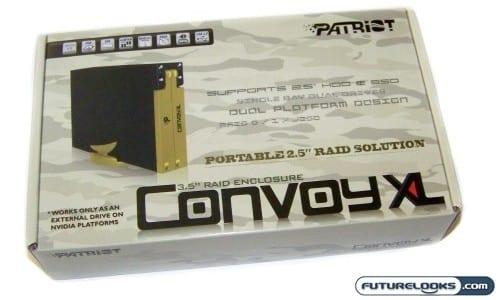 Patriot Memory PCXL25SR Convoy XL 2.5 inch Dual Hot Swappable RAID Enclosure Review