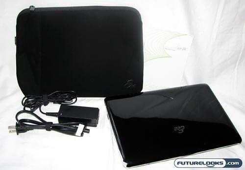 Asus Eee PC 1005HA Seashell Netbook Review