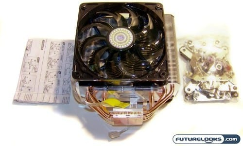 Cooler Master Hyper N620 CPU Cooler Review
