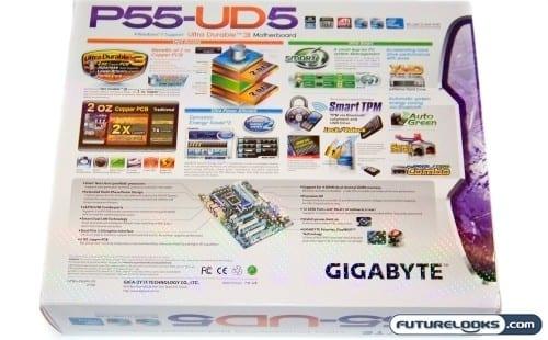 GIGABYTE GA-P55-UD5 LGA1156 ATX Motherboard Review