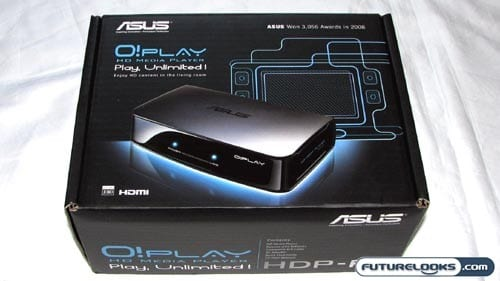 Asus O! Play HDP-R1 HD Media Player Review