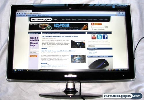 Samsung SyncMaster XL2370 LED LCD Monitor Review