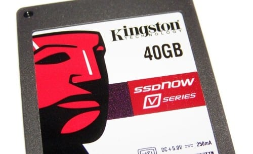 Kingston SSDNow V Series 40GB Boot Drive Review