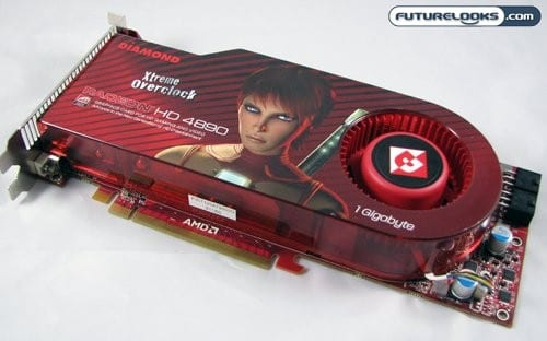 DIAMOND 4890PE51GXOC Radeon HD 4890 1GB Video Card Review