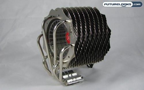 Thermaltake SpinQ Heatpipe CPU Cooler Review