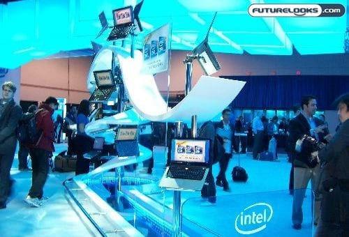 We Are Nothing If Not Erratic   CES 2010 Intel Booth 01
