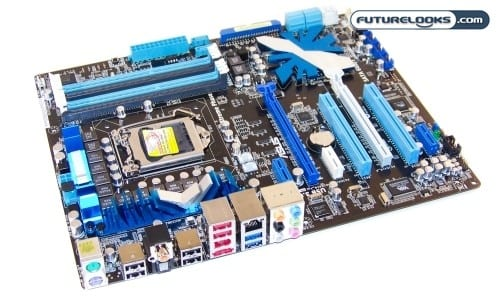 ASUS P7P55D-E Pro LGA1156 ATX Motherboard Review