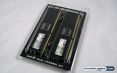 OCZ DDR3 PC3-12800 AMD Black Edition Ready 4GB Dual Channel Memory Kit Review