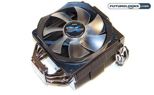 Zalman CNPS10X Extreme Ultra Quiet CPU Cooler Review