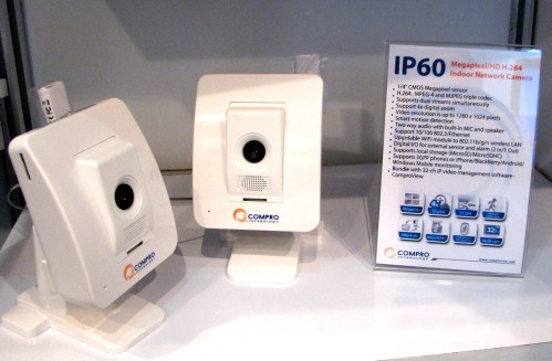 COMPUTEX 2010 - Compro and Thecus Offer IP Cameras, NAS, and NVR Solutions