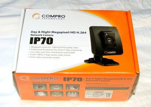 COMPRO Technology's IP70 Day and Night Megapixel/HD H.264 Network Camera Reviewed