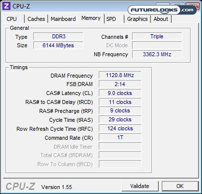 Kingston HyperX 6GB 2250 MHz DDR3 Triple Channel Memory Kit Review
