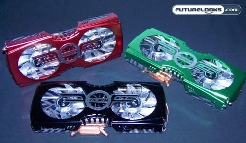 Zalman VF3000 Series VGA Coolers Rounded-Up for nVIDIA and ATI GPUs